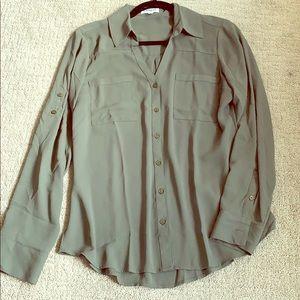 Express Portofino shirt army green